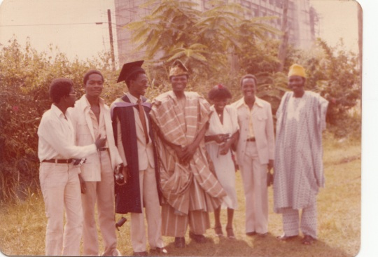 Medical School graduation BLOGGERs nephew Early 1980s