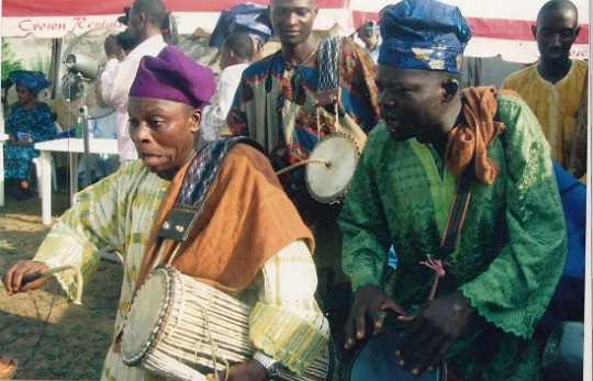The Yoruba Drums and Drummers