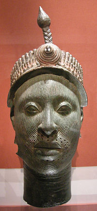 Ife Bronze casting of a king dated around 12th Century