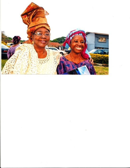 Tola and Auntie Retired Justice Mabogunje