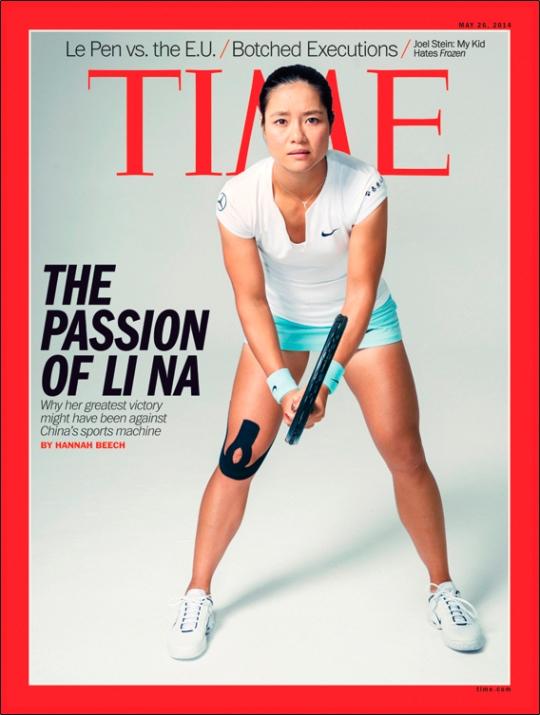 LI NAs TIME COVER
