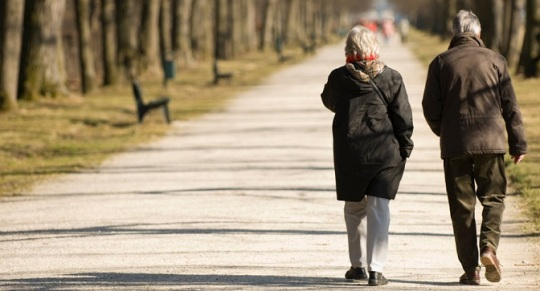 walking and dementia