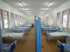 empty ebola ward in Nigeria