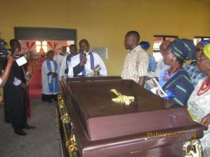 Archdeacon receives body