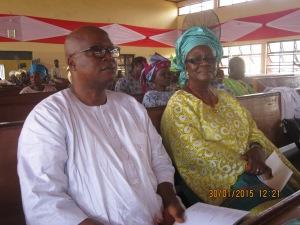 DrWole and Mrs Bisi Adamolekun
