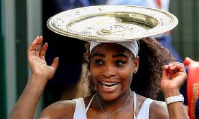 serena wears her crown
