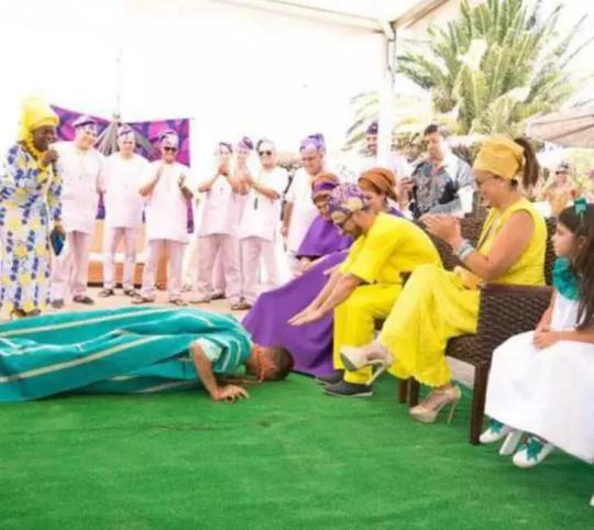 YORUBA WEDDINGthree