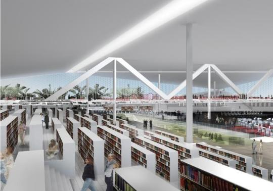 Image result for images of Doha's new library